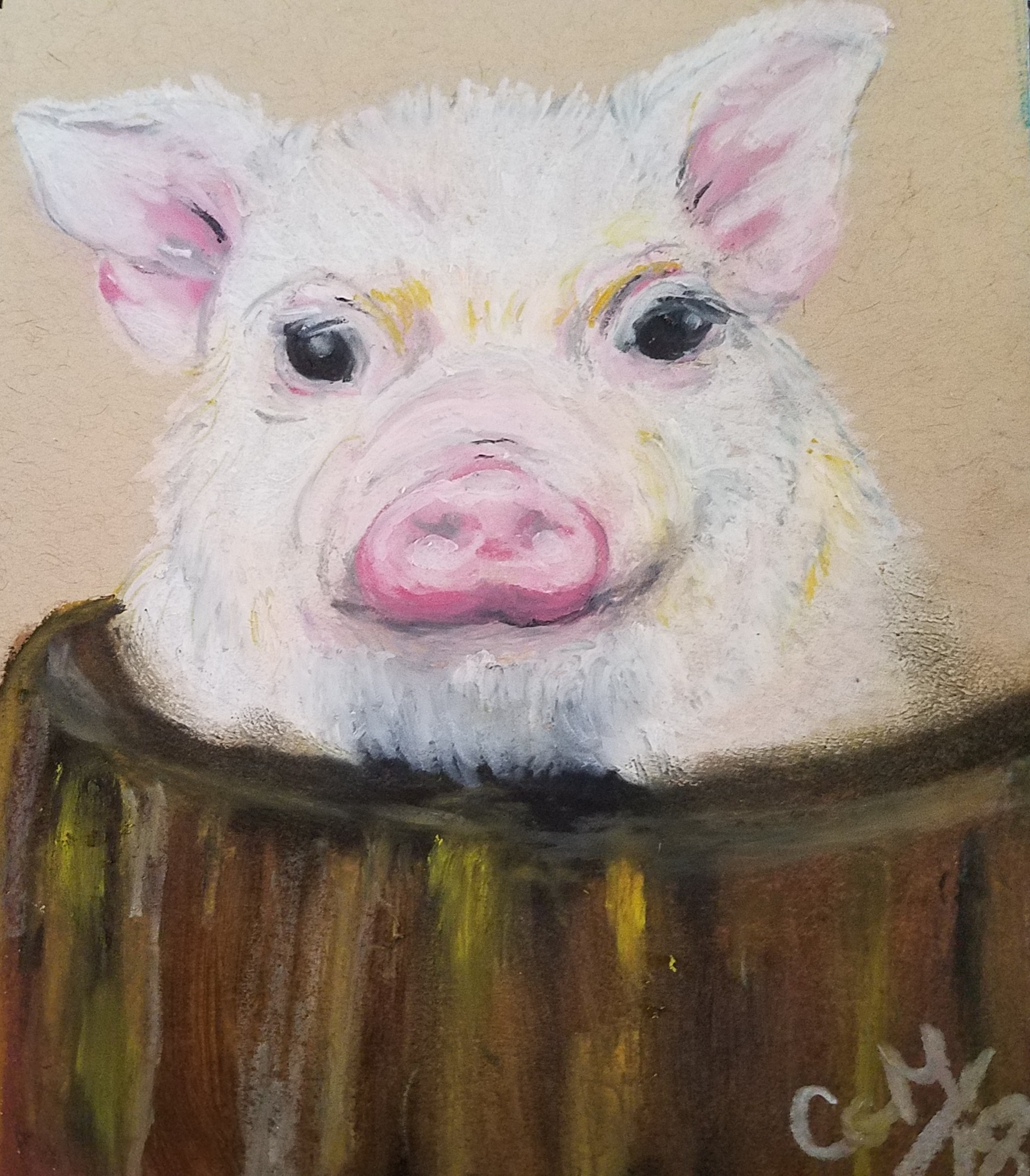 """Little Pig"" by Crystal G. Mills"