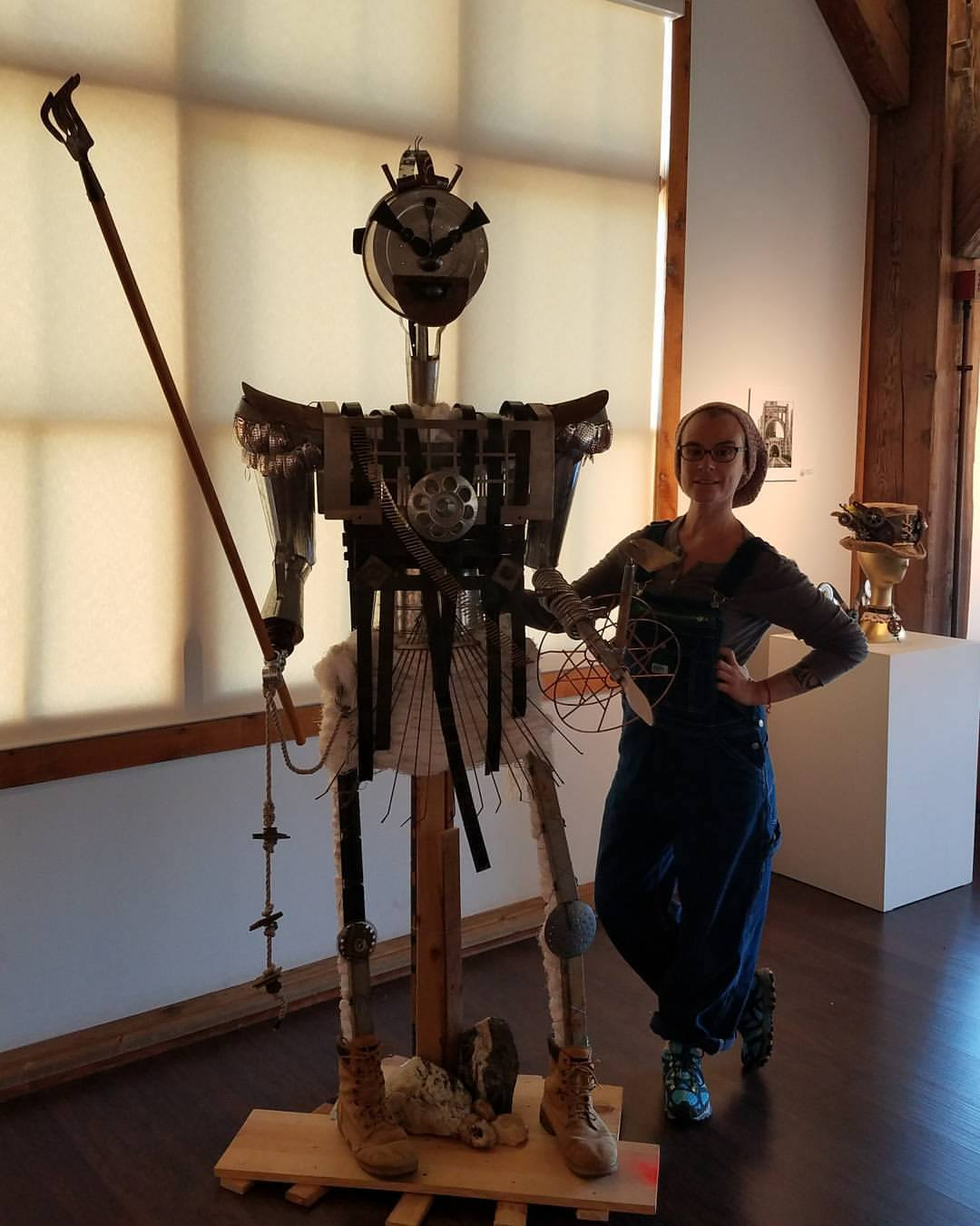 """f'armor"" with artist Padma Koch"