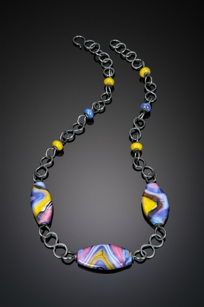 Gravity Necklace by Julie Bahun