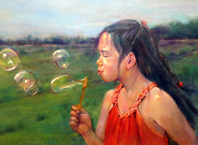 """Bubbles at the Vineyard"" by Marcia Klioze"
