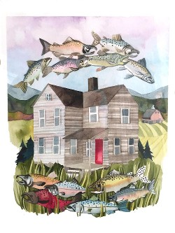 """Salmon House"" by Marni Manning"